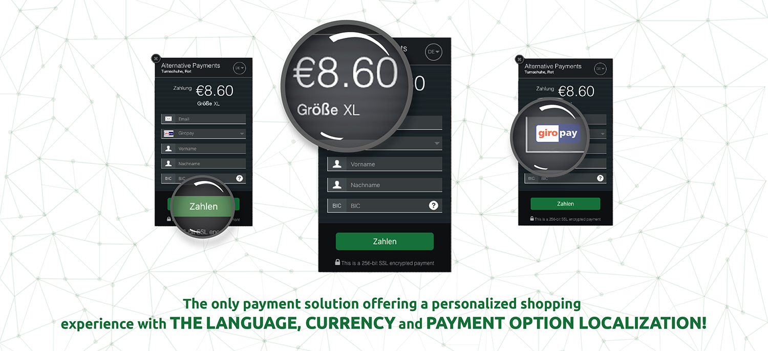 Alternative Payments Releases Payment Widget for Cross-Border e-Commerce