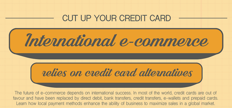 Infographic: International eCommerce relies on credit card alternatives